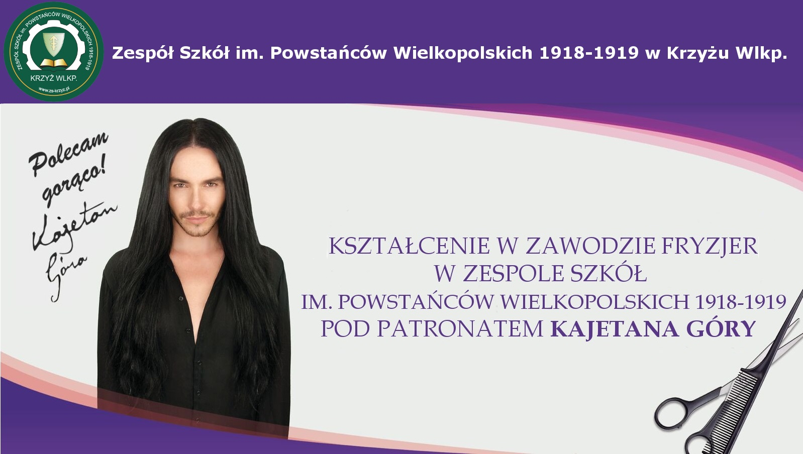 Fryzjer Zespół Szkół Im Powstańców Wielkopolskich 1918 1919 W