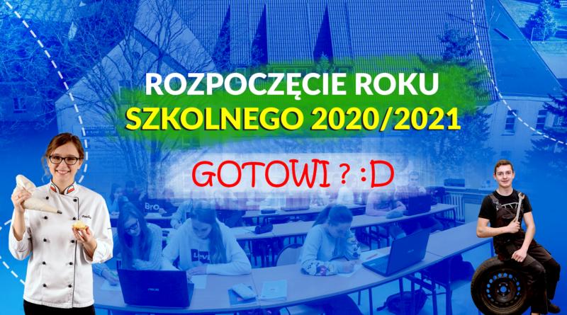 1 Wrzesień 2020r – plan dnia.