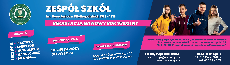 Zespół Szkół im. Powstańców Wielkopolskich 1918-1919 w Krzyżu Wielkopolskim