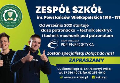 Nowy Patronat w Zespole Szkół!!