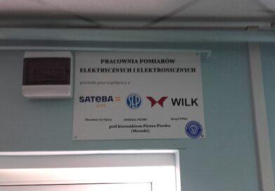 Nowa pracownia pomiarów elektrycznych i elektronicznych w Zespole Szkół!
